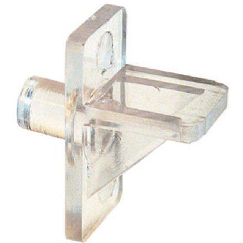 Slide-Co 241946 Shelf Support Peg, 1/4-Inch, Clear Plastic,(Pack of 12) (Slide A-shelf)