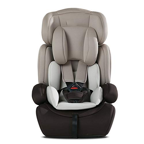 MARCYL Baby Car Seat Child Safety Seat Car with 0-12 Years Old Car Can Sit Reclining Isofix Car Supplies,Gray