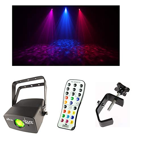 Chauvet DJ Lighting Abyss USB Simulated Effect Water Light w/Remote & Clamp
