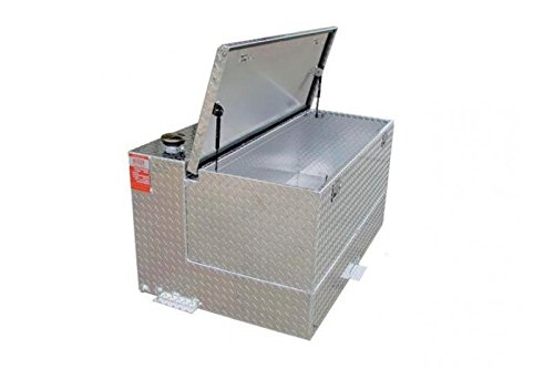 Aluminum Tank Industires SSL95CB 95 Gallon Severe Series Heavy Duty Refueling Tank & Toolbox Combo