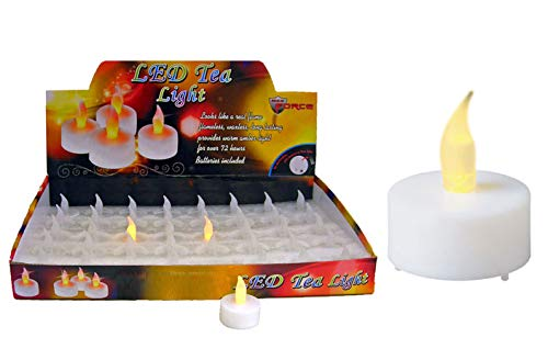 DollarItemDirect LED Tea Light, Case of 320