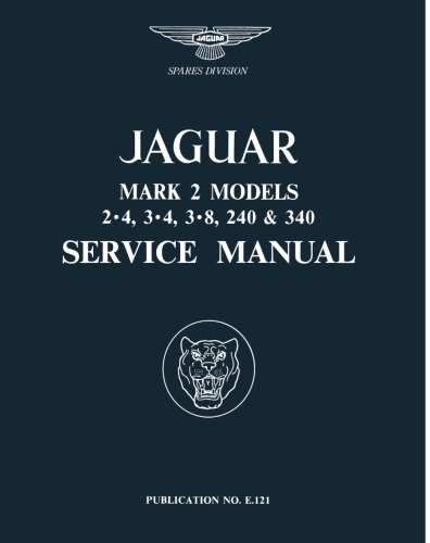 JAGUAR Mk2 SHOP MANUAL SERVICE REPAIR BOOK HAYNES Mk1 240 340 Mk 2 MkII 55-69 II