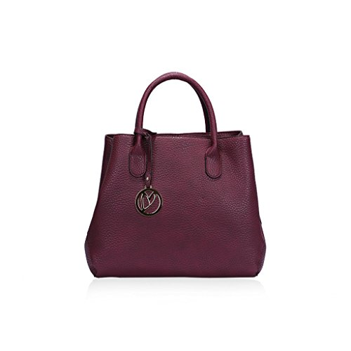 Schultertasche Damen West wein rot Key WE01FY4qn8