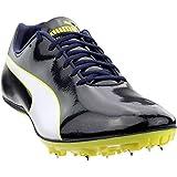 PUMA Mens Evospeed Sprint 9 Track/Field Athletic Shoes Black 11