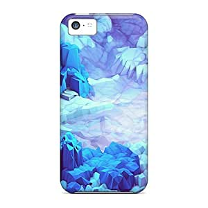 Hot WjhTNRw4529DnGOC Case Cover Protector For Iphone 5c- Digital Moutains