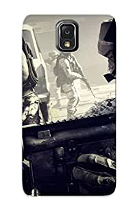 Dxdfpd-3216-vhdngit Cover Case - Balefield 3 Soldier Foreground Protective Case Compatibel With Galaxy Note 3