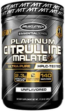 Muscletech Essential Citrulline Malate Servings