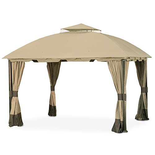 Garden Winds Replacement Canopy For The South Hampton Gazebo Riplock 350 Outdoor Canopies