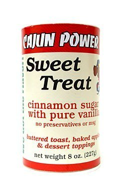 (Cajun Power sweet treat cinnamon sugar W/ pure vanilla 8 ounce)