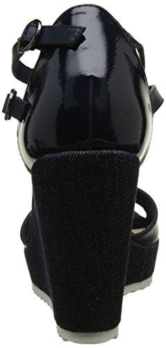Oliver Ouvert Femme s 891 28316 Sandales Bleu Comb Navy Bout pdFnaxvwIq