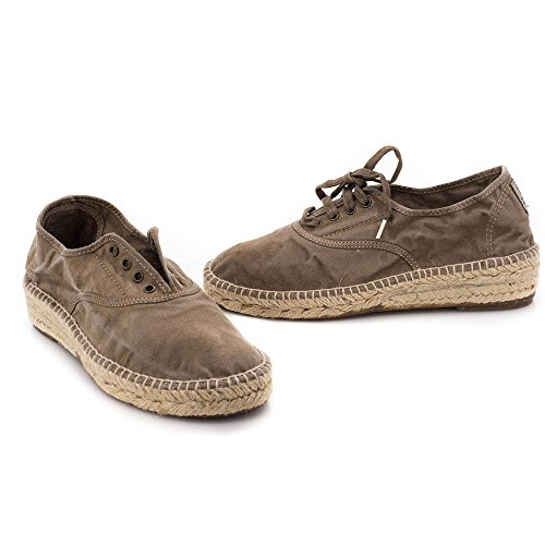 Marron 697E Tissu Sneakers Natural World Marron qHF1cXA