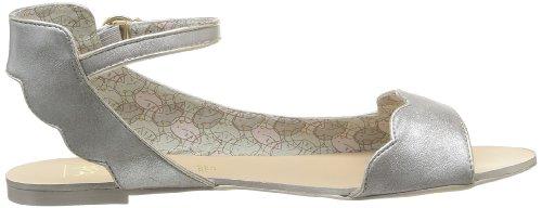 SODASIPHON Perle Ss14-p-03 - Sandalias para mujer, color Plateado (Argent (Silver))