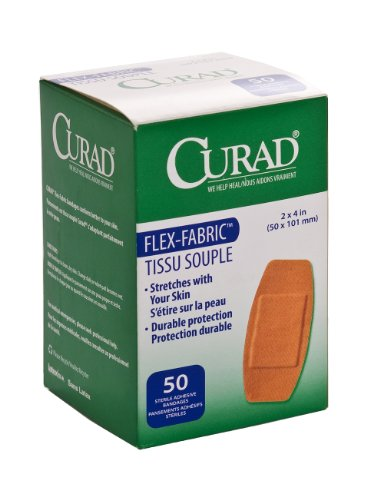 Curad NON25524Z Fabric Adhesive Bandages, 2