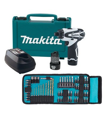 Makita Driver Drill W 65 Piece Accessory Kit Carrying Bag DF030DWX1