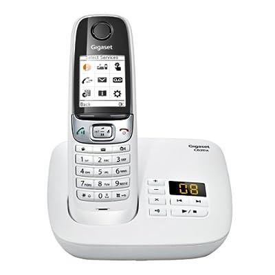 Téléphone fixe SIEMENS GIGASET C620A BLANC SOLO AVEC REPONDEUR