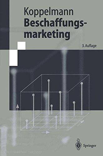 Beschaffungsmarketing (Springer-Lehrbuch)