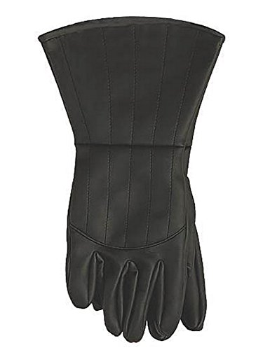 Rubie's Men's V For Vendetta Adult Costume Gloves, Black, One Size]()