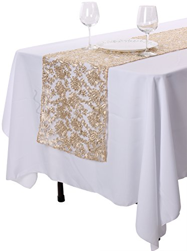 Enimay Table Runners For Wedding Banquet Party Table Decoration 14