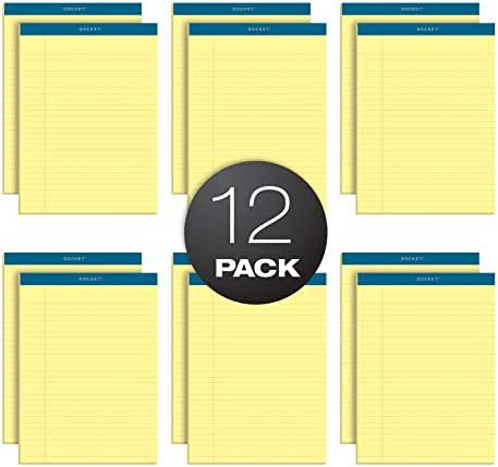 TOPS Docket Writing Pads, 8-1/2