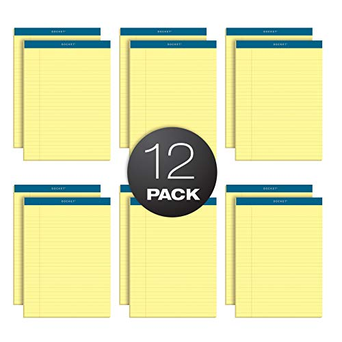 (TOPS Docket Writing Pads, 8-1/2