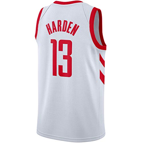 (Ao Fer Nema Men's_James_Harden_White_Basketball Jersey Fans Replica Game Jersey Quality Sportswear )