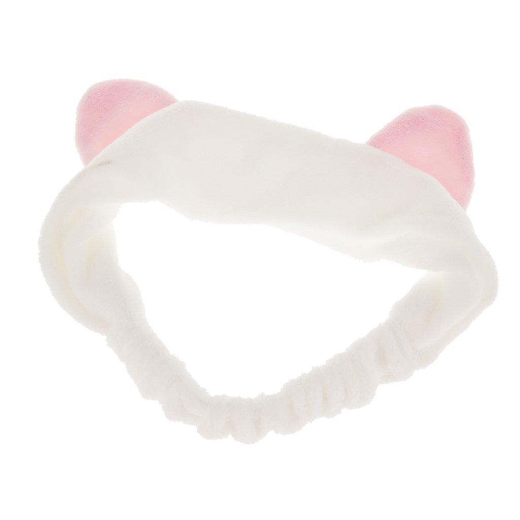 Haarband Stirnband Haarbänder Haarschmuck Haarreifen mit Katze-Ohr für Gesichtswäsche Make up Generic