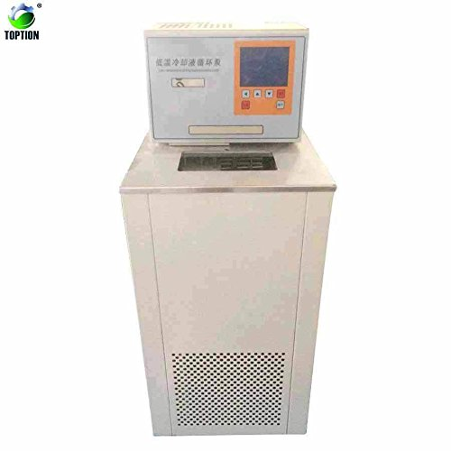 DL-2005 Chiller Low Temperature Cooling Liquid Circulating Pump Laboratory Refrigeration Equipments LCD Cooler Reservoir Recirculating Chiller, TOPTION