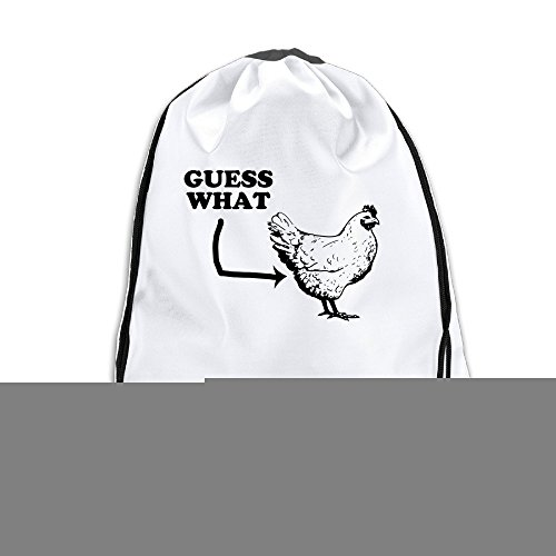 Price comparison product image LHLKF Guess What Chicken Butt One Size Fancy Tote Bag