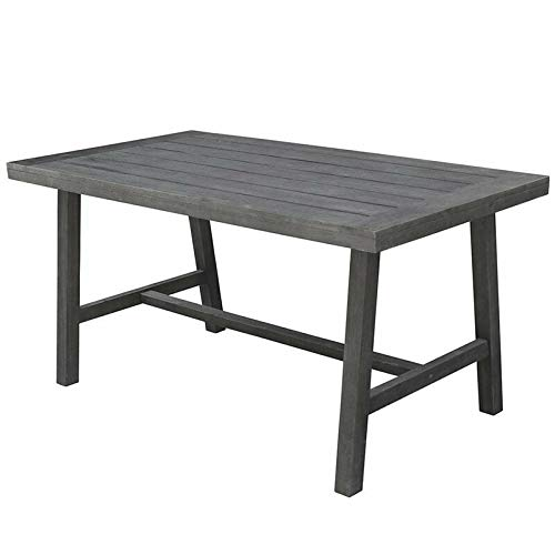 (JumpingLight Renaissance Picnic Table in Vista Gray Durable and Ideal for Patio and Backyard)