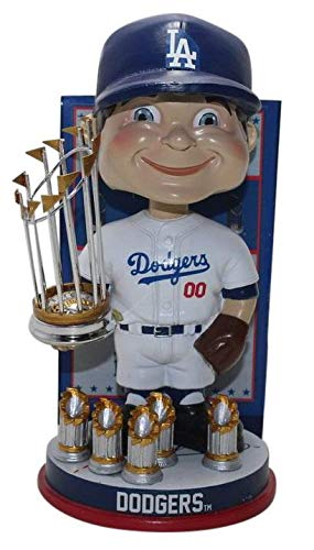 FOCO Los Angeles Dodgers MLB World Series Champions Bobblehead - Numbered to 1,000 MLB