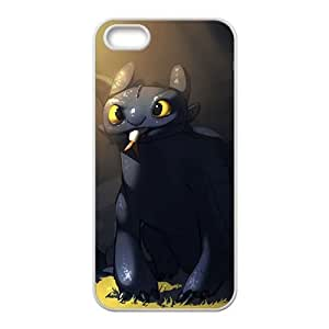 HDSAO Lovely black greedy cat Cell Phone Case for Iphone 5s