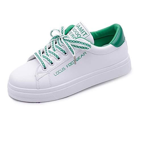 PU donna Winter rosso ZHZNVX Scarpe nero rotonda Punta poliuretano da Green verde Sneakers Comfort tqHH64EnW
