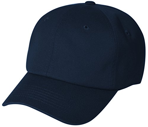 BRAND NEW 2016 Classic Plain Baseball Cap Unisex Cotton Hat For Men & Women Adjustable & Unstructured For Max Comfort Low Profile Polo Style Unique & Timeless Clothing Accessories By Top Level, Navy, One Size