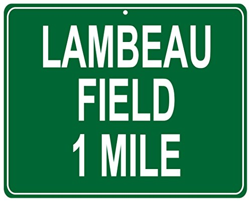 Green Bay Packers Lambeau Field Metal Highway Street