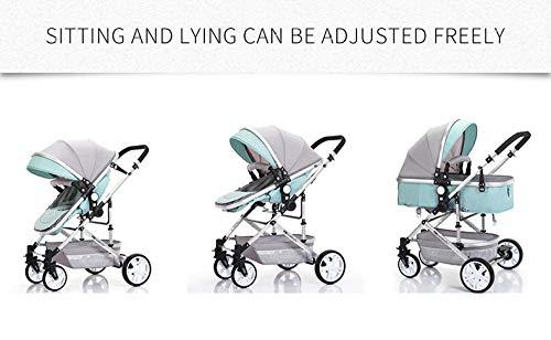 RUMIAO-Baby-Twintandem-Pushchair-Detachable-Combination-Two-Way-3DEVA-WheelsBlue