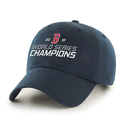 Fan Favorite MLB Boston Red Sox World Series Champions Clean Up Hat - Adjustable