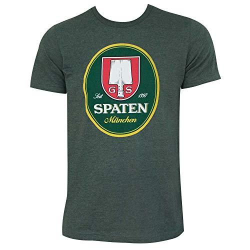 Spaten Logo Forest Tee Shirt Large