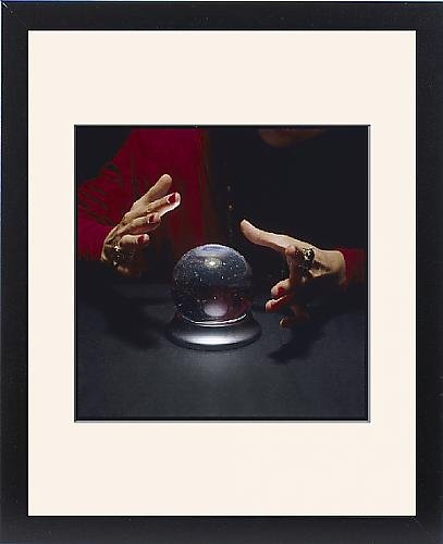 Framed Print Of The Crystal Ball by Prints Prints Prints
