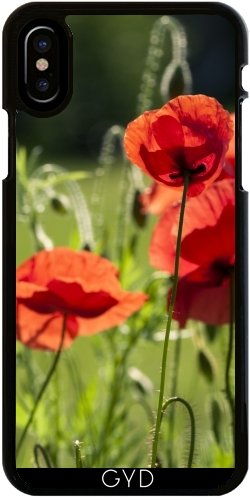 coque iphone x coquelicot