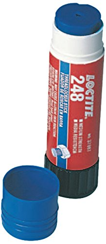 - Loctite 826034 442 Blue Quickstix 248 High Strength Threadlockers, 9 g, 3/4