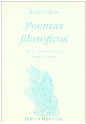 Poemas filosóficos (Hiperión): Amazon.es: Rubén Darío, Eduardo Aceredo Estremera: Libros