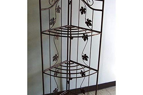 Oakland Living Sunrise Bakers Rack, Antique Bronze by Oakland Living (Image #1)