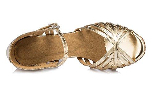 TDA - Zapatos con tacón mujer 7.5cm Heel Gold