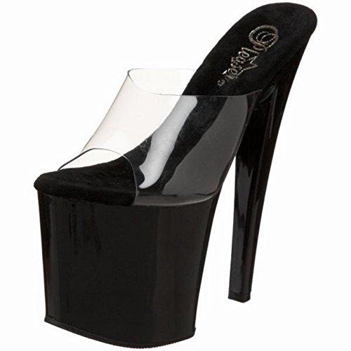 Pleaser Taboo-701cb Platform Sandaal Voor Vrouwen