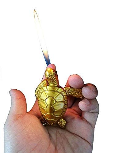 Strange model design windproof cigarette lighters jet torch flame fine gift or collection (Turtle)
