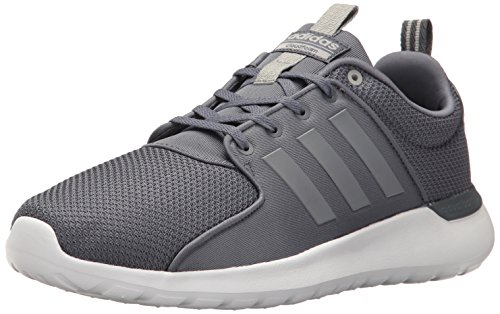 adidas Men's Cloudfoam lite Racer Running Shoe, Clear Onix, 9.5 D - Medium (Adidas Neo Womens Lite Racer Casual Shoes)