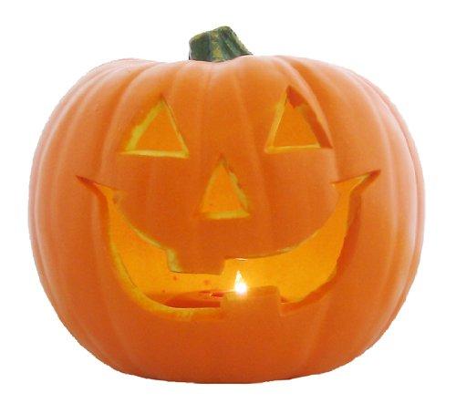 9 inches Smiley Jack O Lantern LED 802628 W22 ~ H21cm]()