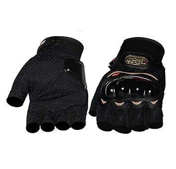 Men Combat Tactical Half Finger Fingerless Sport Motorcycle Cycling Gloves Mitt