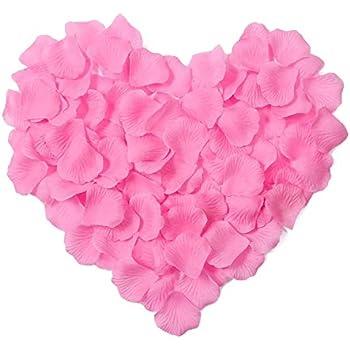 Amazon viatabuna silk rose petals artificial flower petals for viatabuna silk rose petals artificial flower petals for special wedding valentine partys decoration 1000pcs hot mightylinksfo