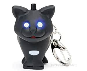 Llaveros LED - Gato Negro